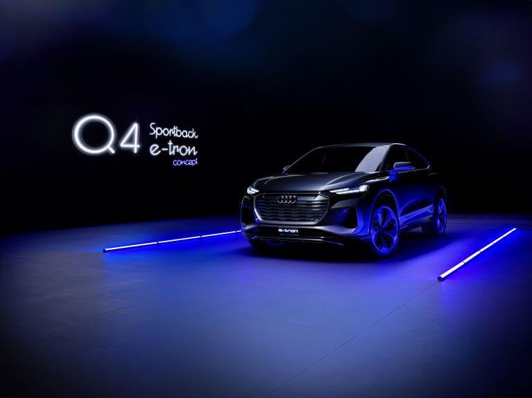 2020 Audi Q4 Sportback e-tron concept 590700