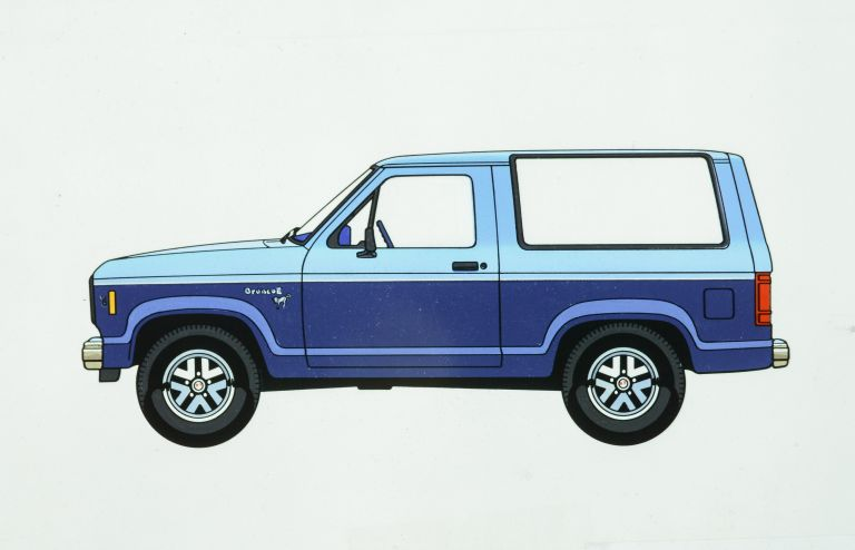 1985 Ford Bronco II 592576