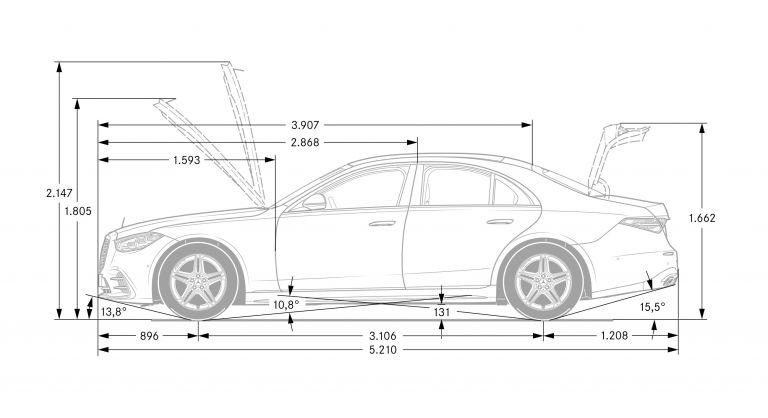 2021 Mercedes-Benz S-Class ( V223 ) 596073