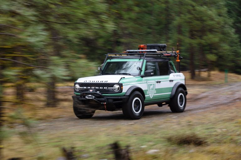 2020 Ford Bronco + Filson Wildland Fire Rig Concept 606885