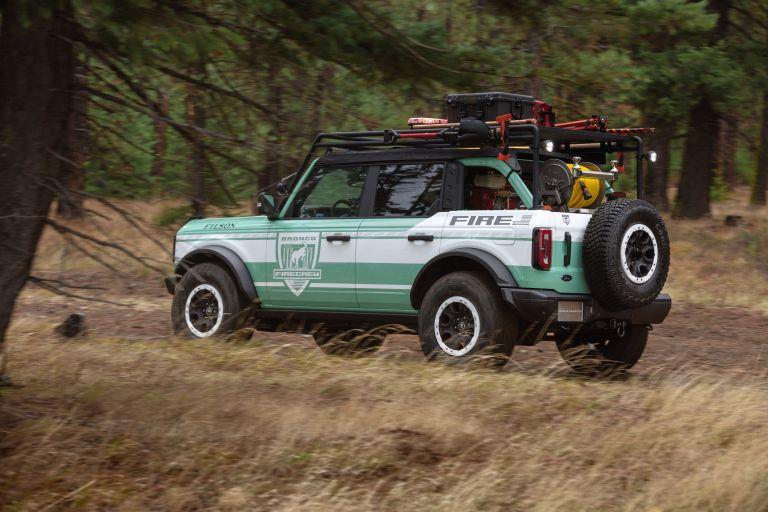 2020 Ford Bronco + Filson Wildland Fire Rig Concept 606887