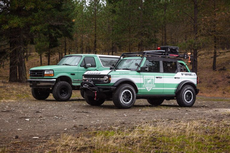 2020 Ford Bronco + Filson Wildland Fire Rig Concept 606890