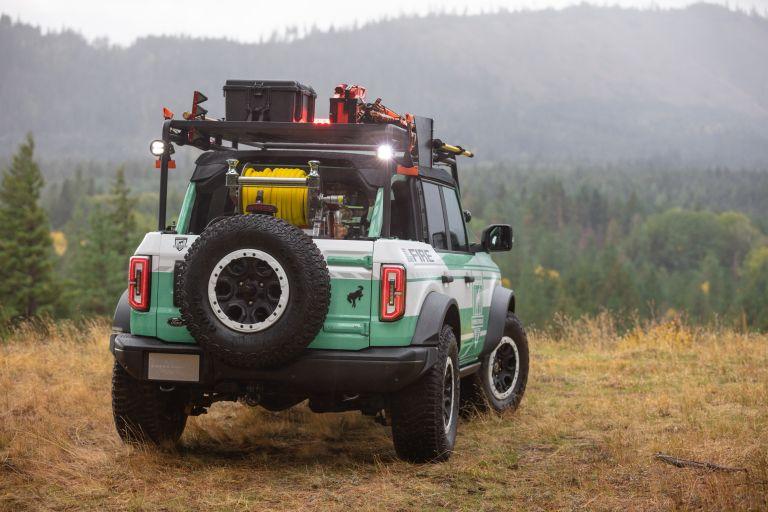 2020 Ford Bronco + Filson Wildland Fire Rig Concept 606891