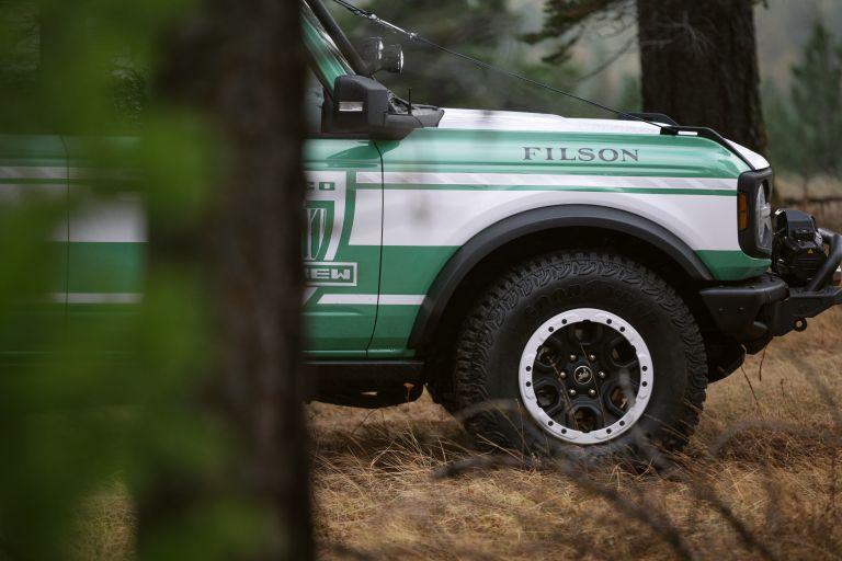 2020 Ford Bronco + Filson Wildland Fire Rig Concept 606893