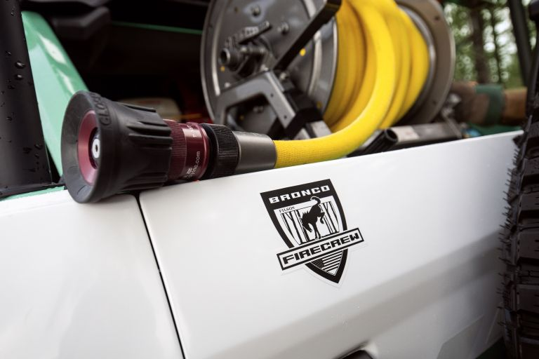 2020 Ford Bronco + Filson Wildland Fire Rig Concept 606895