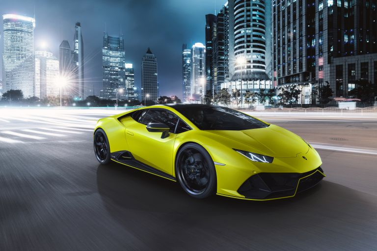 2021 Lamborghini Huracán EVO Fluo Capsule 608492