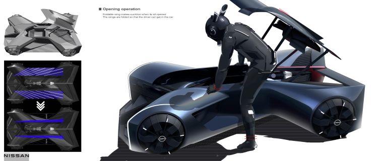 2020 Nissan GT-R X 2050 concept 614184