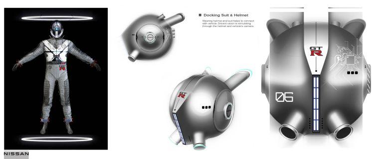 2020 Nissan GT-R X 2050 concept 614186