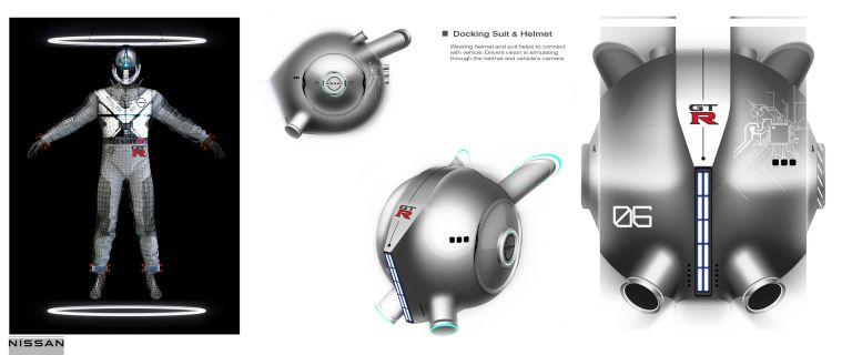 2020 Nissan GT-R X 2050 concept 614195