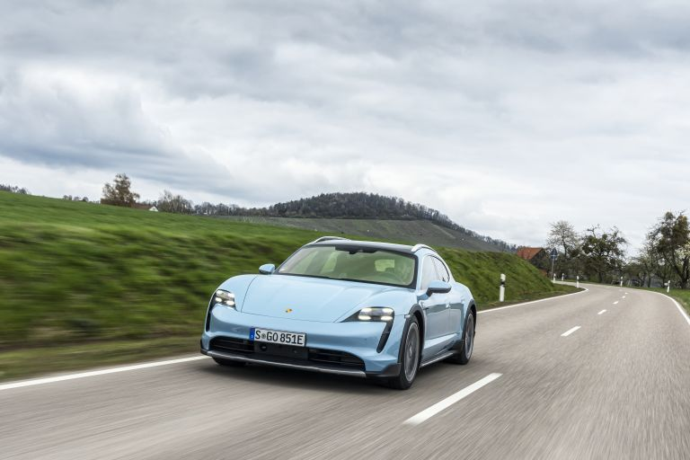 2022 Porsche Taycan 4S Cross Turismo 629305