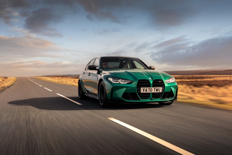 2021 BMW M3 ( G80 ) Competition - UK version 623855