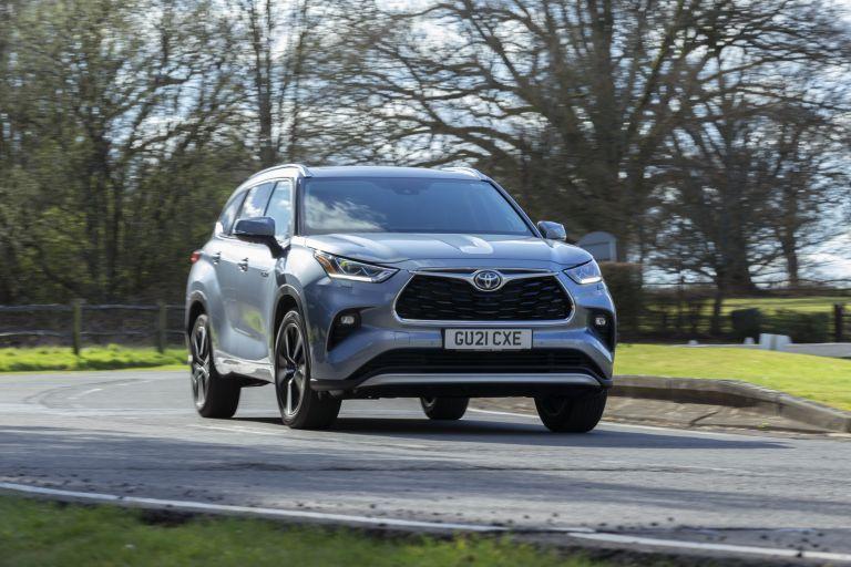 2021 Toyota Highlander hybrid - UK version 625179