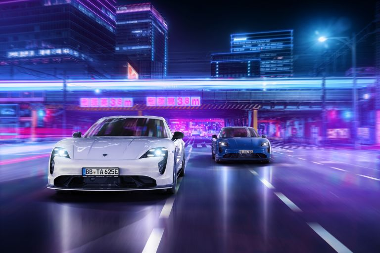 2021 Porsche Taycan with TechArt aerokit 640728