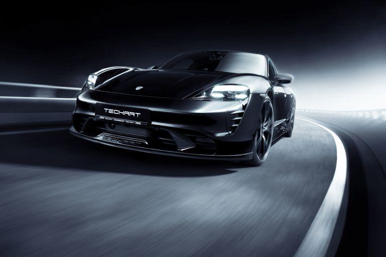 2021 Porsche Taycan with TechArt aerokit 640734