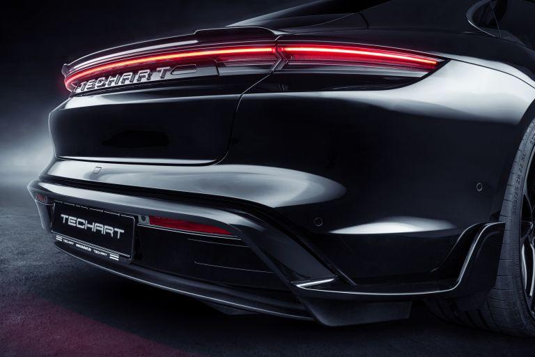 2021 Porsche Taycan with TechArt aerokit 640747