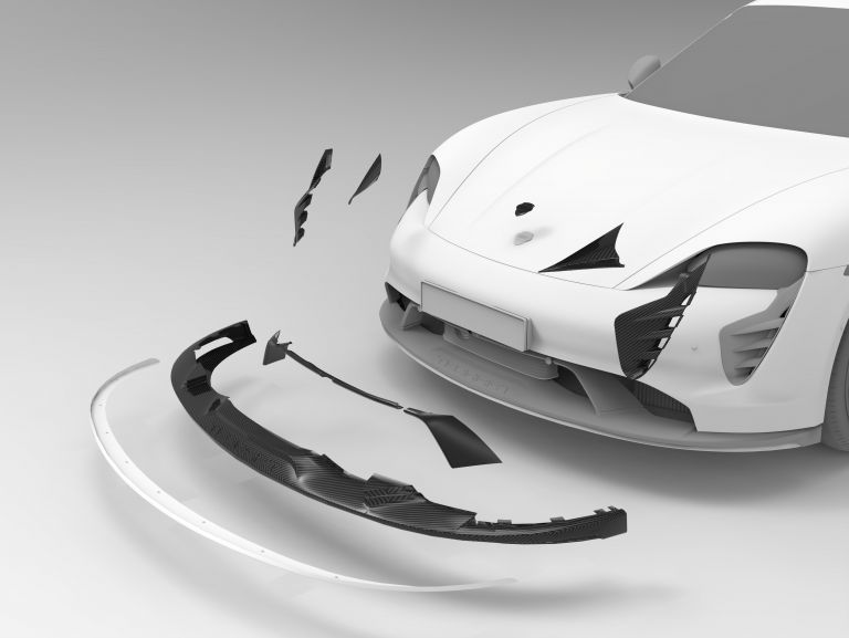 2021 Porsche Taycan with TechArt aerokit 640750