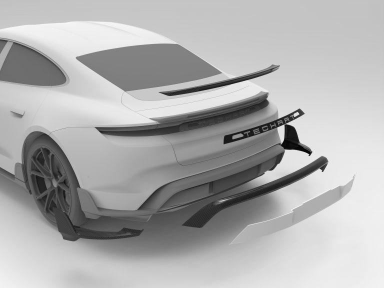 2021 Porsche Taycan with TechArt aerokit 640751
