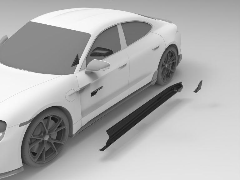 2021 Porsche Taycan with TechArt aerokit 640752