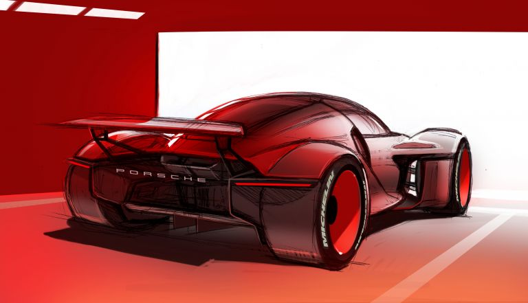 2021 Porsche Mission R concept 642574