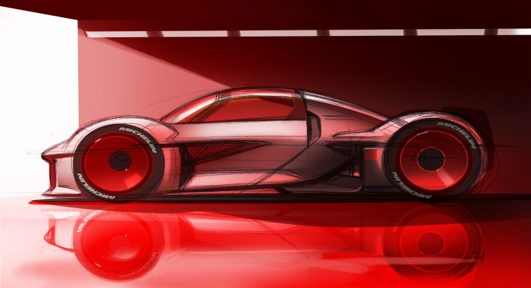 2021 Porsche Mission R concept 642576