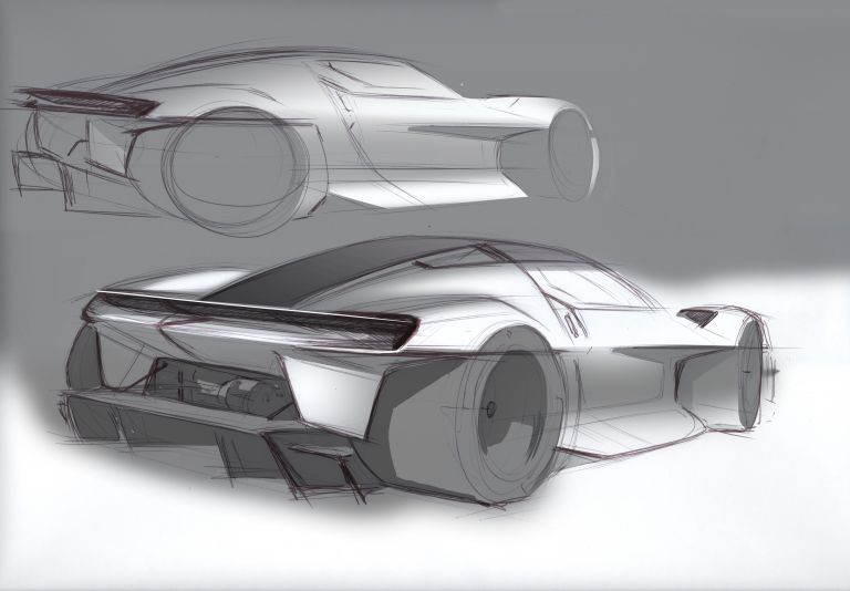 2021 Porsche Mission R concept 642580