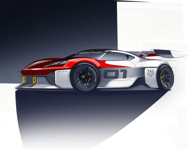 2021 Porsche Mission R concept 642583
