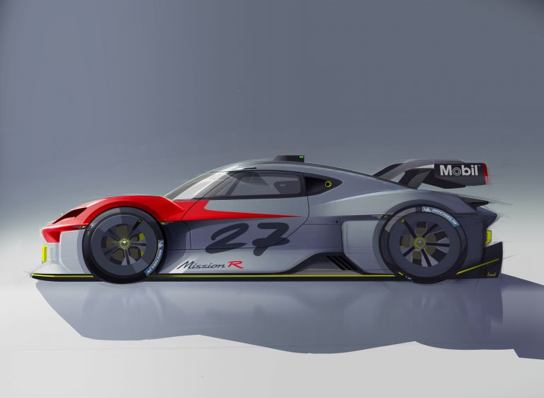2021 Porsche Mission R concept 642584