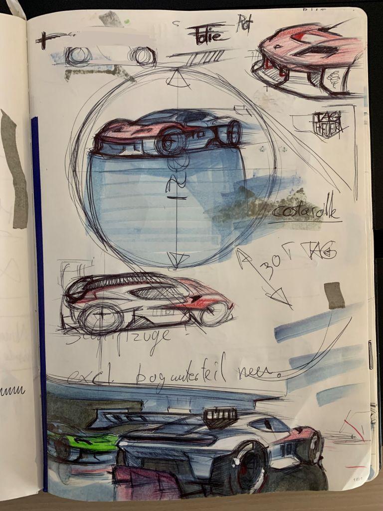 2021 Porsche Mission R concept 642586