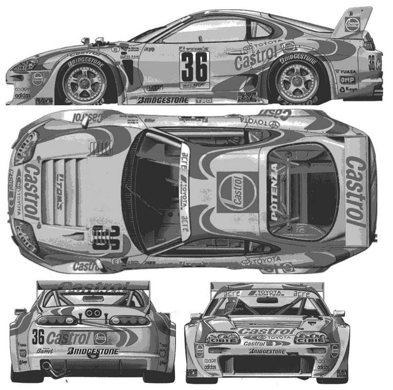 1997 Toyota Supra twin turbo 196389