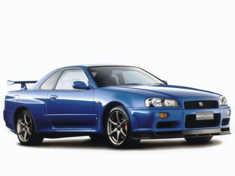 1998 Nissan Skyline GT-R R34 482500