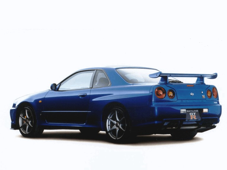 1998 Nissan Skyline GT-R R34 482501
