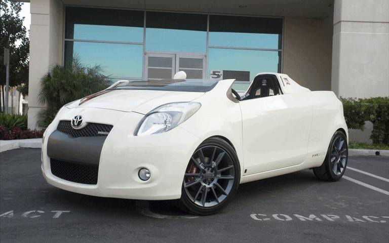 2008 Toyota Yaris Club concept by Five Axis 499010