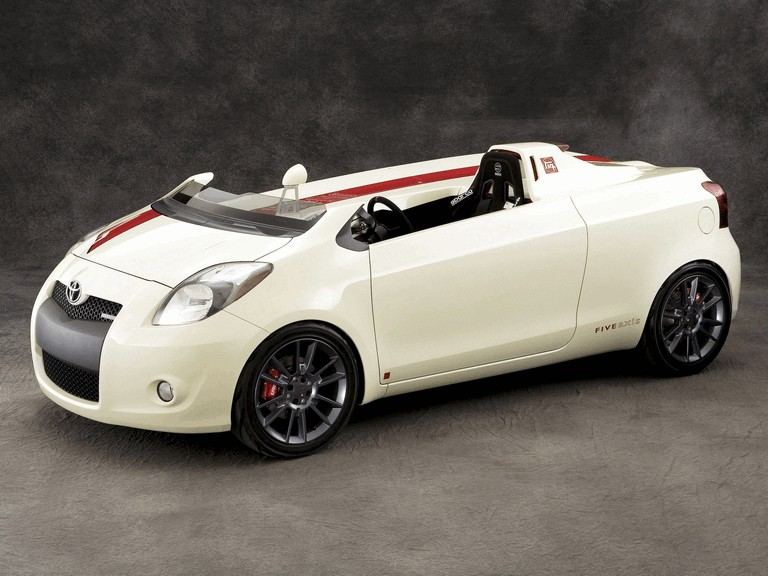 2008 Toyota Yaris Club concept by Five Axis 499014