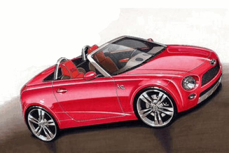 2009 Toyota iQ spyder concept sketches 239978