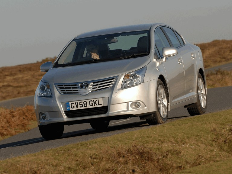 2009 Toyota Avensis UK version 240871