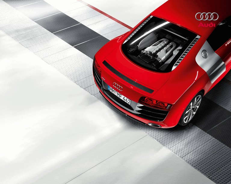 2009 Audi R8 V10 5.2 FSI with 525HP 240909