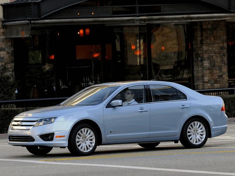 2009 Ford Fusion hybrid USA version 242226