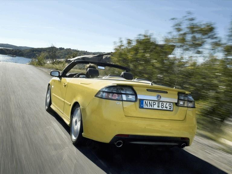 2008 Saab 9-3 convertible yellow edition 242304