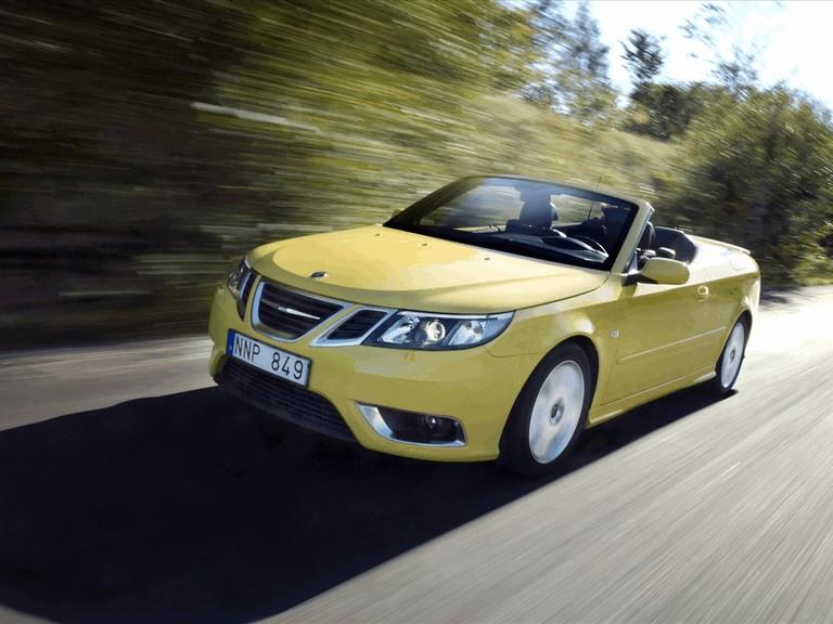 2008 Saab 9-3 convertible yellow edition 242305