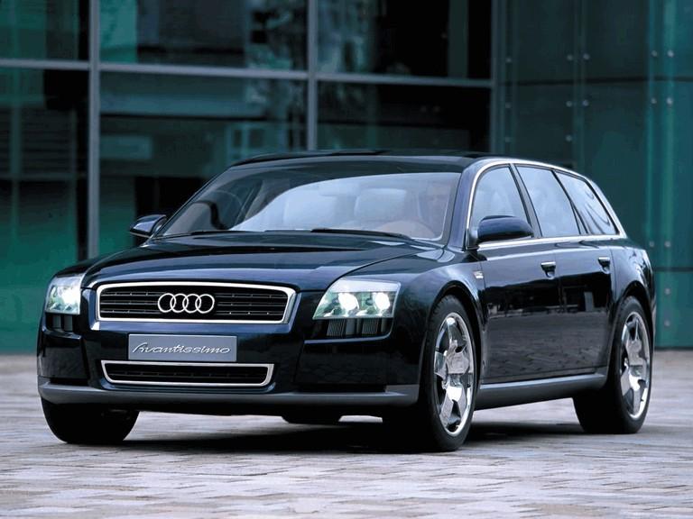 2001 Audi Avantissimo concept 197283