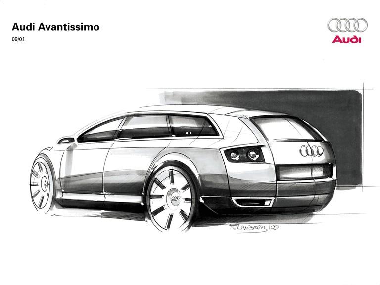 2001 Audi Avantissimo concept 197297