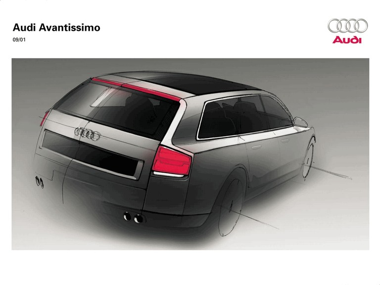 2001 Audi Avantissimo concept 197299
