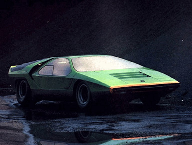 1968 Alfa Romeo Carabo concept 242940