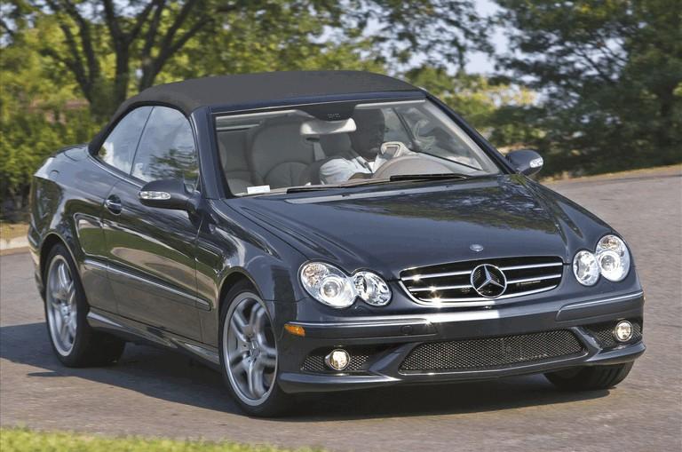 2009 Mercedes-Benz CLK550 cabriolet 501467