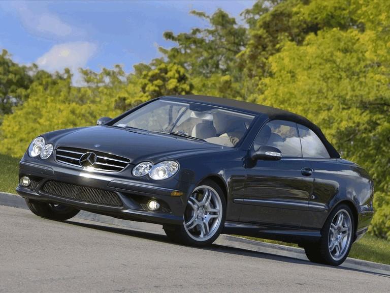 2009 Mercedes-Benz CLK550 cabriolet 501468