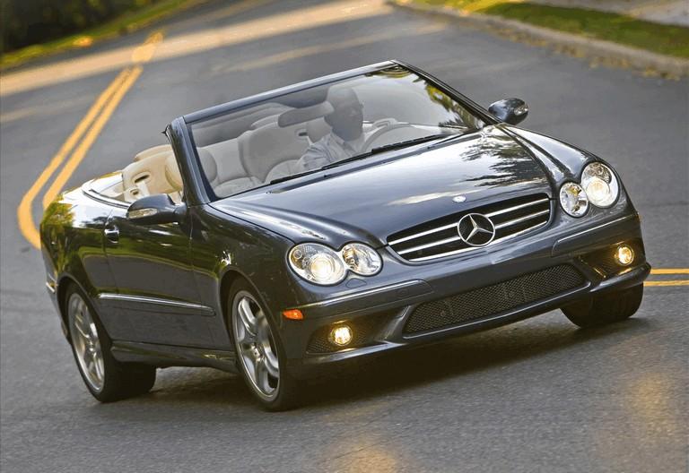 2009 Mercedes-Benz CLK550 cabriolet 501471