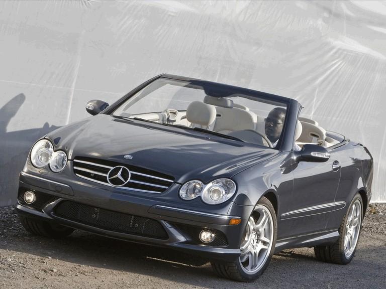 2009 Mercedes-Benz CLK550 cabriolet 501475
