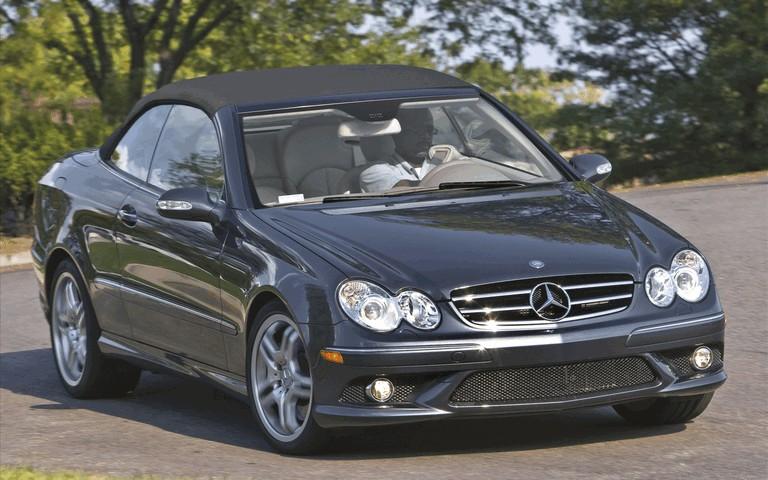 2009 Mercedes-Benz CLK550 cabriolet 501479