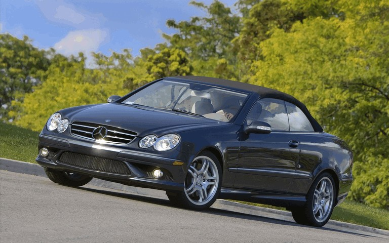2009 Mercedes-Benz CLK550 cabriolet 501480