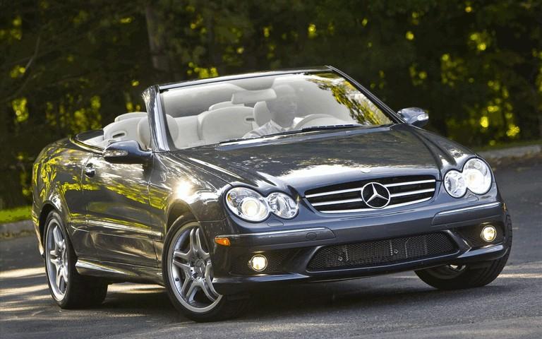 2009 Mercedes-Benz CLK550 cabriolet 501482